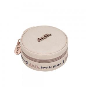 Petite boîte à bijoux marque ANEKKE - rose pâle