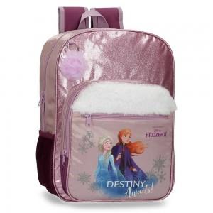 """Sac à dos fille 38cm LA REINE DES NEIGES """"Destiny Awaits"""" sac scolaire violet"""