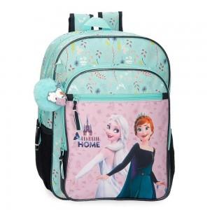 """Sac à dos fille 38cm LA REINE DES NEIGES """"Arendelle is home"""" sac scolaire disney princesse"""
