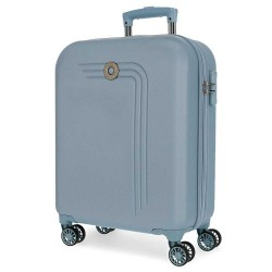 """Valise cabine 4 roues MOVOM """"Riga"""" bleu - Bagage femme pas cher"""