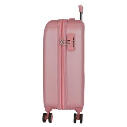 """Valise cabine 4 roues MOVOM """"Riga"""" rose - Bagage femme pas cher"""