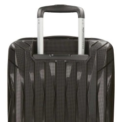 """Valise taille moyenne extensible 66cm MOVOM """"Fuji"""" noir - bagage 1 semaine pas cher"""