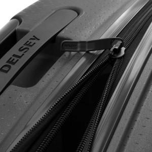 """Valise extensible grande taille 76cm DELSEY """"Belmont Plus"""" - noir"""