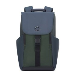 """Sac à dos homme DELSEY """"Securflap"""" 15"""" army"""