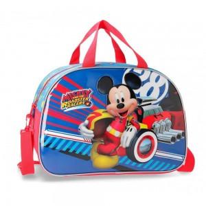"Sac de voyage enfant Disney MICKEY ""World"" rouge"