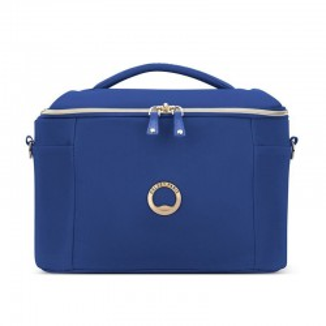 """Vanity case DELSEY """"Montrouge"""" - bleu"""