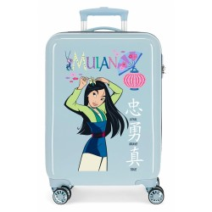 "Valise cabine DISNEY PRINCESS ""Mulan"" - ciel"