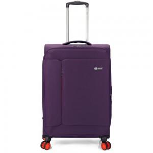 "Valise cabine extensible semi-rigide BENZI ""Island"" violet   Bagage léger pas cher"