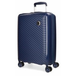 """Valise cabine 55cm MOVOM """"Tokyo"""" bleu marine   Bagage petite taille pas cher"""