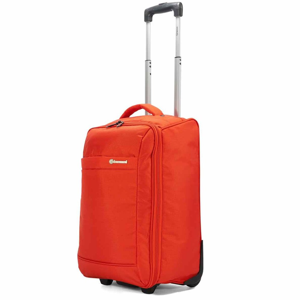 Valise à roulettes pliable 51cm Benzi - Orange