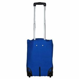 Valise à roulettes pliable 51cm Benzi - Bleu