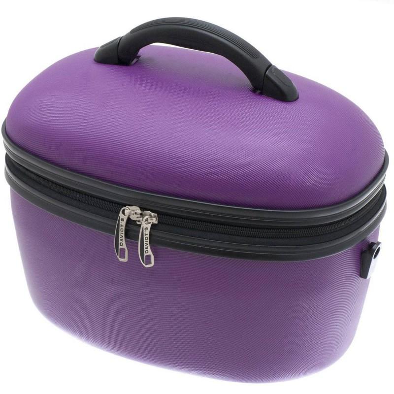 Vanity case rigide 36cm DAVIDT'S - Violet