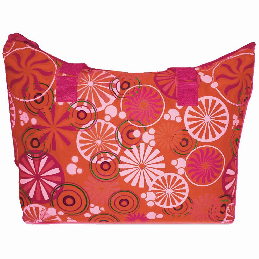 "Sac de plage BENZI ""Rosaces"" - orange"
