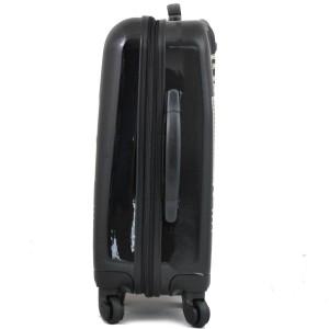 Valise cabine 4 roues BENZI motif Mortorcycle - Noir