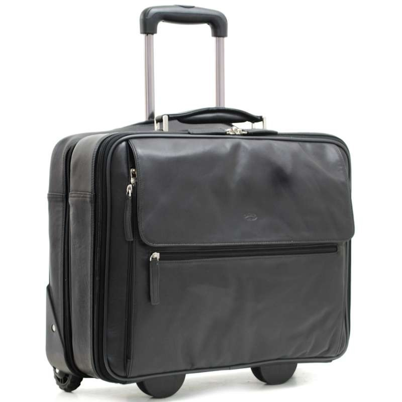 Pilot-Case trolley en Cuir...