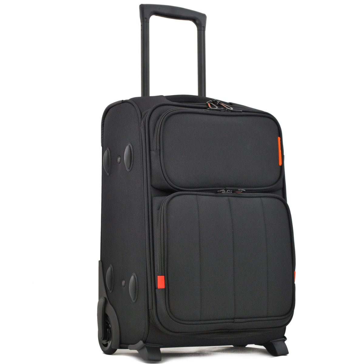Valise trolley ou Bagage d'affaire The Chase DAVIDT'S - Noir