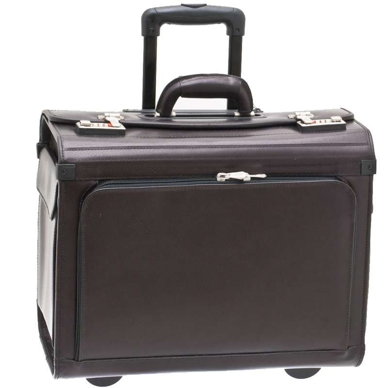 Pilot-Case trolley Cuir...
