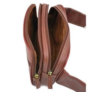 Sac ceinture ou Banane en Cuir KATANA - Marron