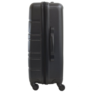 Valise Cabine 4 roues ABS Vague BENZI - Noir