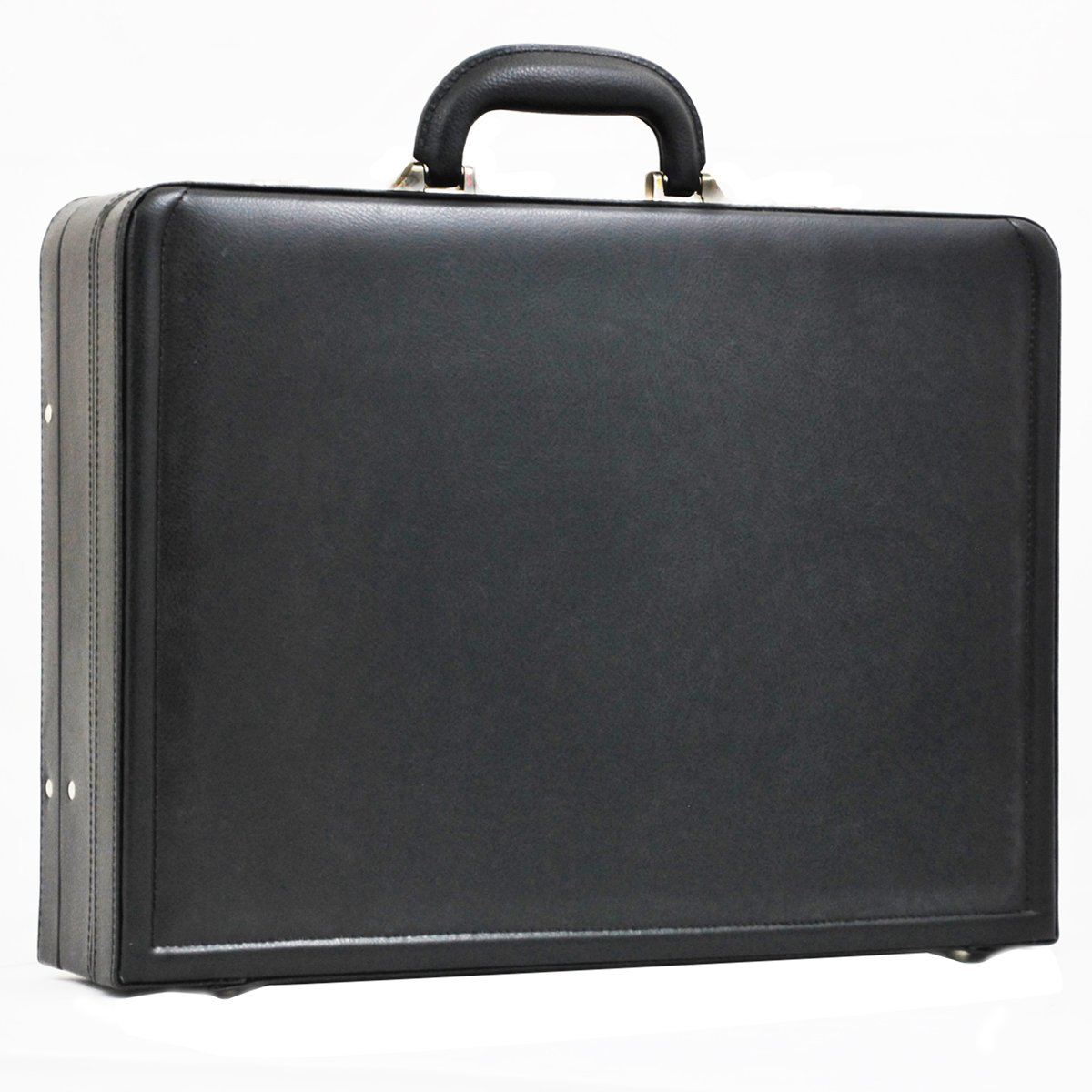 Attaché-Case Cuir Davidt's - Noir