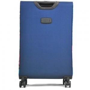 Valise Médium 60cm Souple LES TROPEZIENNES - Bleu