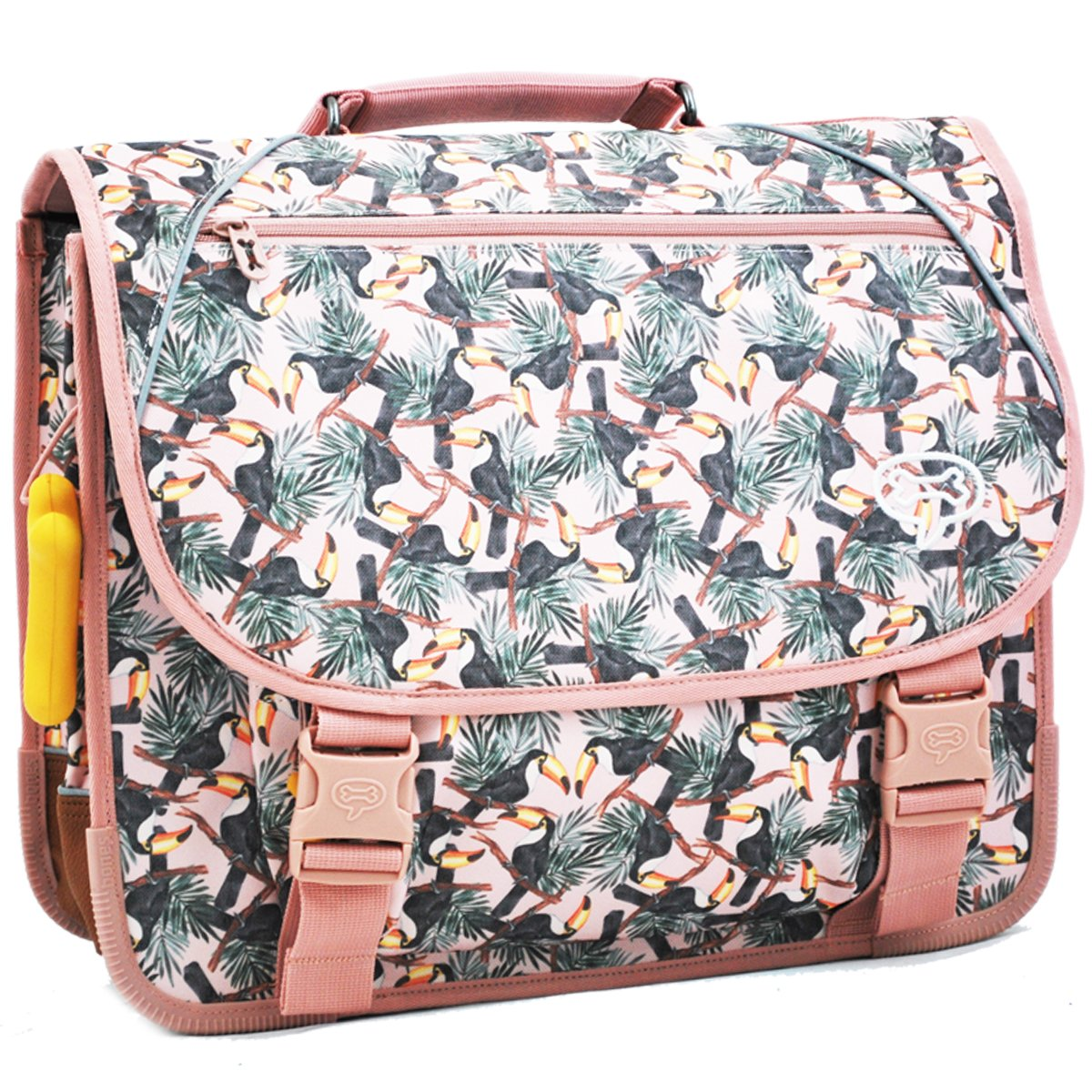 Cartable Fille 31L STONES AND BONES Cedar - TOUCAN ROSE