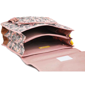 Cartable Fille 31L STONES AND BONES Cedar - TOUCAN ROSE