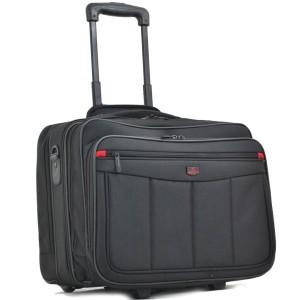 """Pilot case trolley multi-poches DAVIDTS """"Monte Carlo"""""""