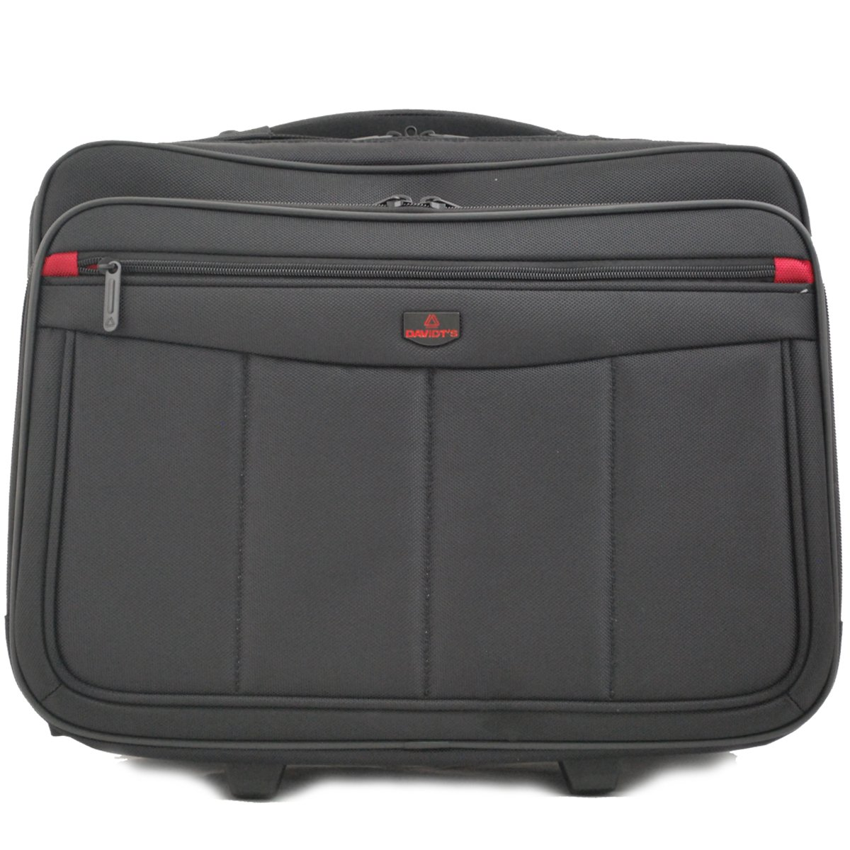 Pilot-Case trolley multi-poches DAVIDT'S - Noir