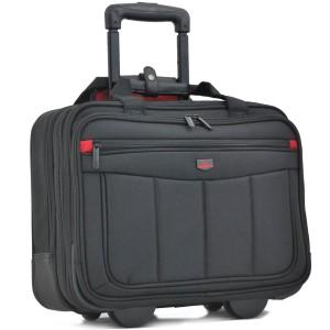 """Pilot-case souple cpt PC 15.5"""" DAVIDT'S """"Monte Carlo"""" - noir"""