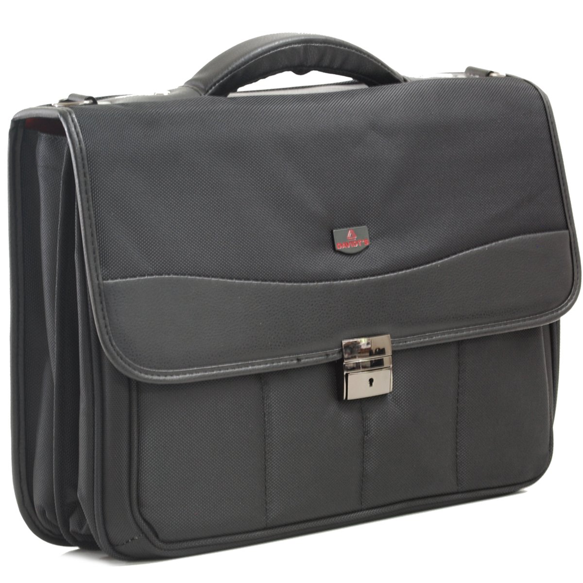 "Cartable + poche-ordinateur 15 "" DAVIDT'S - Noir"