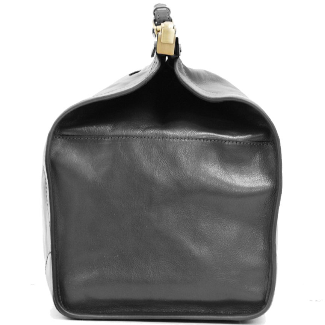 Sac de voyage Doctor Bag en Cuir de vachette - Noir