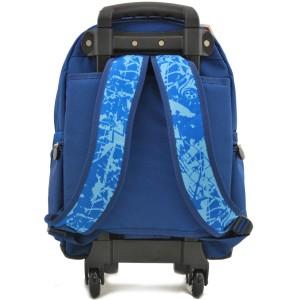 Sac à dos à roulettes Garçon SNOWBALL - Bleu