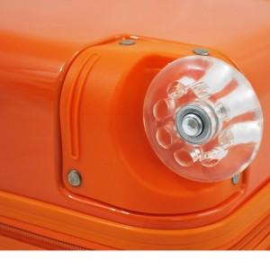 Valise cabine 2 roues MADISSON Poussin et Pois - Orange