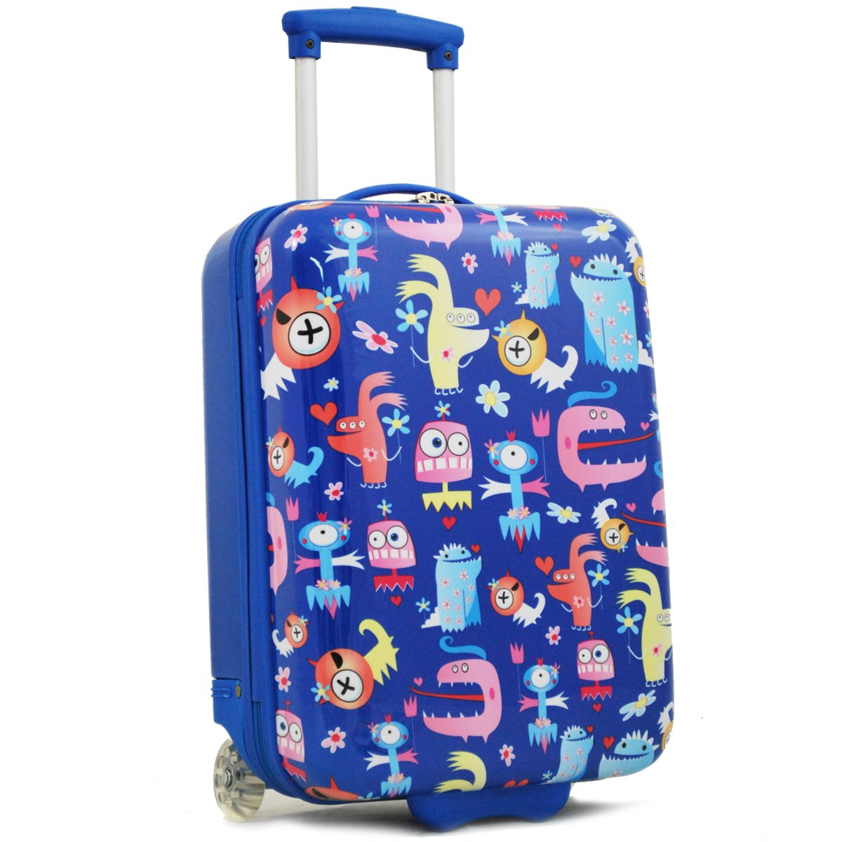 "Valise enfant MADISSON ""Little Monsters"" - bleu"