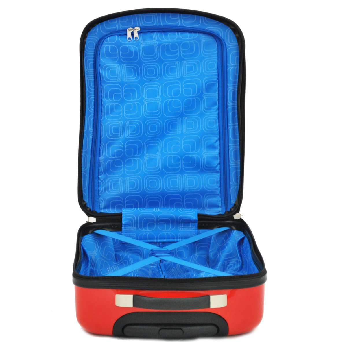 Valise cabine 2 roues MADISSON Voiture - Rouge