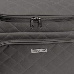 Set de 2 vanitys multipoches de la marque Kinston - Noir