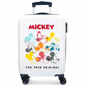 Valise cabine 4 roues en ABS Joy Mickey de DISNEY.