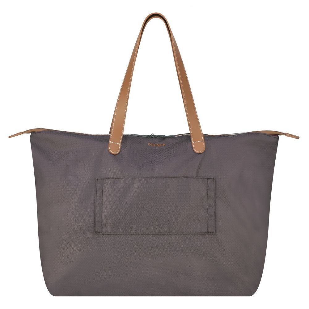 Sac de voyage femme DELSEY de la collection Chatelet Air Soft coloris Chocolat.