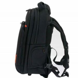 Sac à dos à roulettes porte-ordinateur DAVIDT'S noir