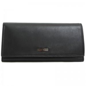 Portefeuille femme en cuir AZZARO - noir