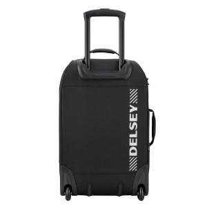 Valise trolley cabine 2 roues / sac à dos TRAMONTANE de  DELSEY 55 cm Noir