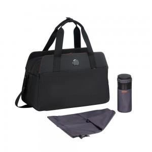 """Sac de voyage avec protection PC 14"""" 50 cm DELSEY Daily's Noir"""