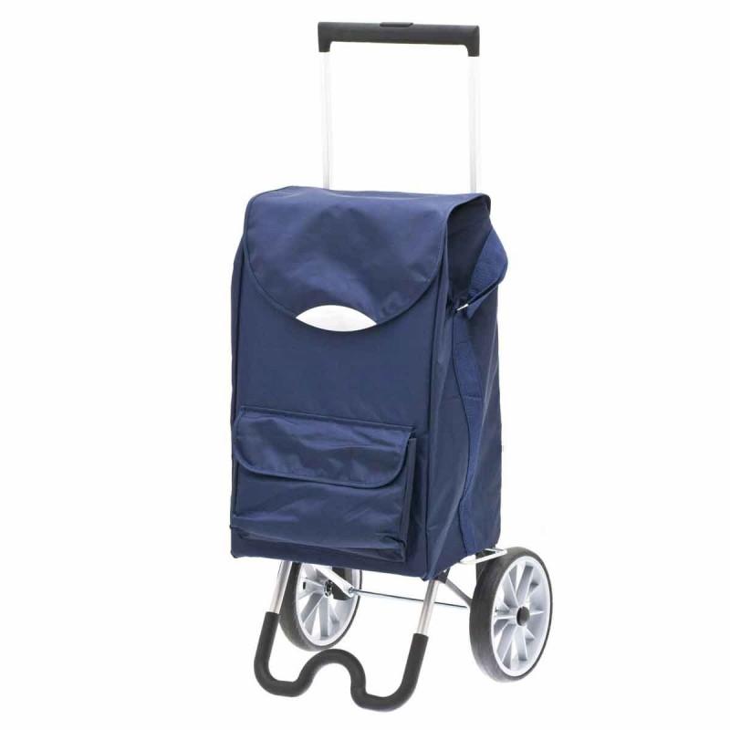 """Chariot de marché bleu Marine """"stockolm"""" de Secc."""
