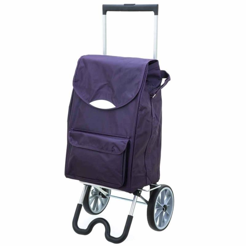 "Chariot de marché violet ""stockolm"" de Secc."