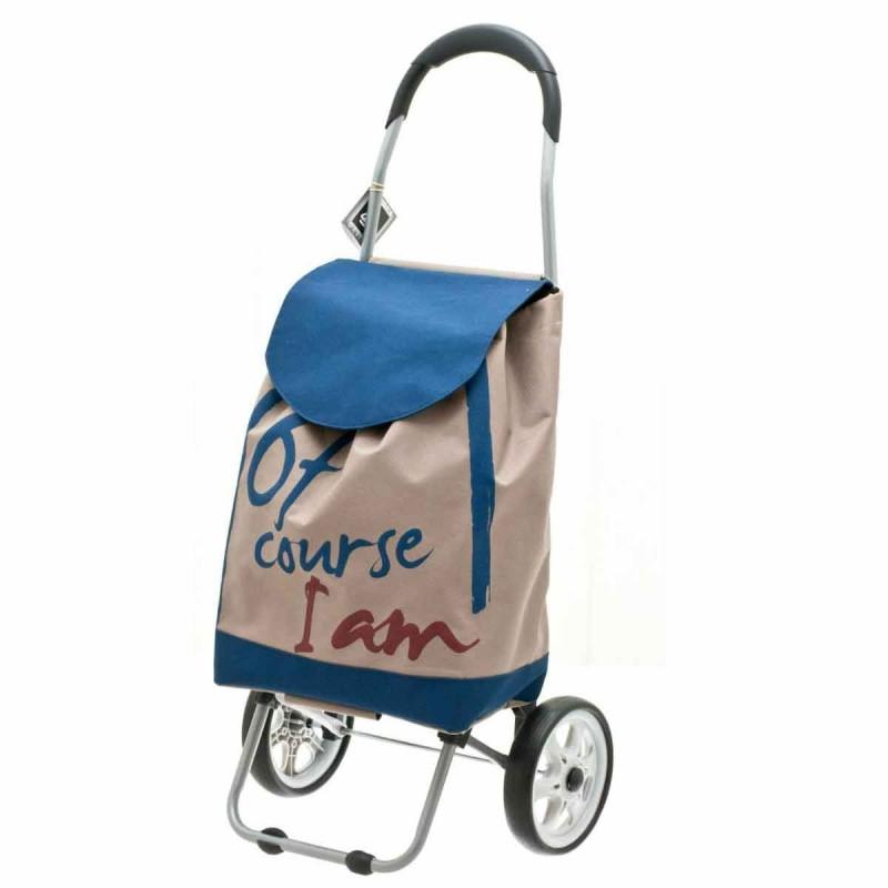 """Chariot de marché SECC """"Of course"""" - BEIGE"""