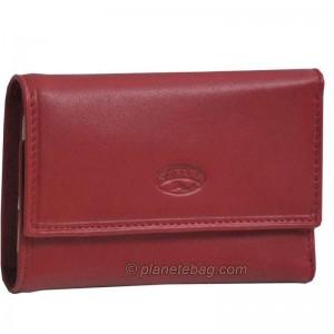 Porte-clés en cuir véritable KATANA - rouge