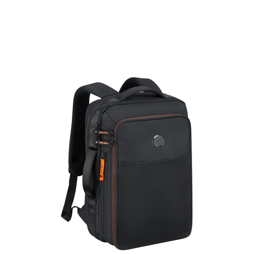 "DELSEY- SAC A DOS 2 CPT - PROTECTION PC 15.6"" - NOIR"