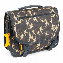 Cartable Enfant 38 cm STONES AND BONES Lily - SWALLOWS NAVY