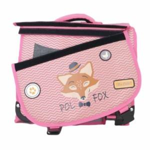 """Cartable réversible POL FOX 35cm """"The Coolest"""""""